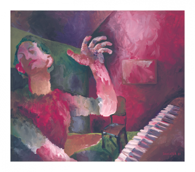 Pianist Print